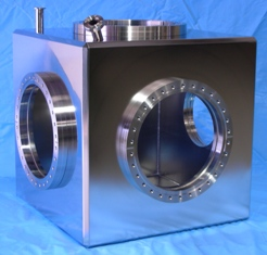 polished-stainless-steel-ultra-high-vacuum-chamber-custom-stainless-steel-fabrication